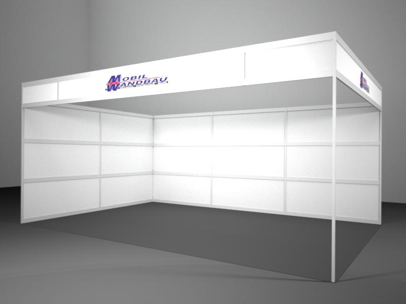 Messestand HORIZONT by Mobil Wandbau GmbH